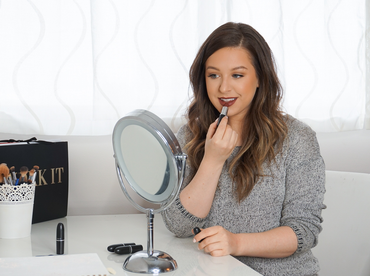 Top Mac Lipsticks for Fall   Elyse Morency   Mom and Lifestyle Blog