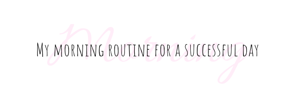 Morning Routine for Busy Moms