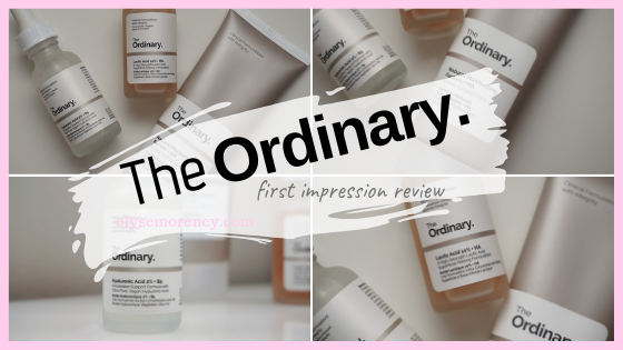 The ordinary. Skincare Review- Elyse Morency Blog - Motherhood, Lifestyle & Beauty