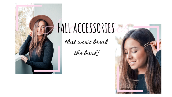 Fall Hair Accessories (that won't break the bank!)