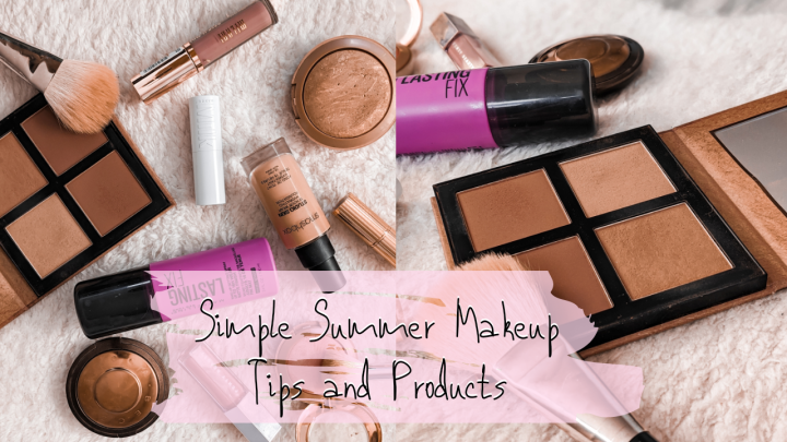 Simple Summer Makeup Tutorial and Tips